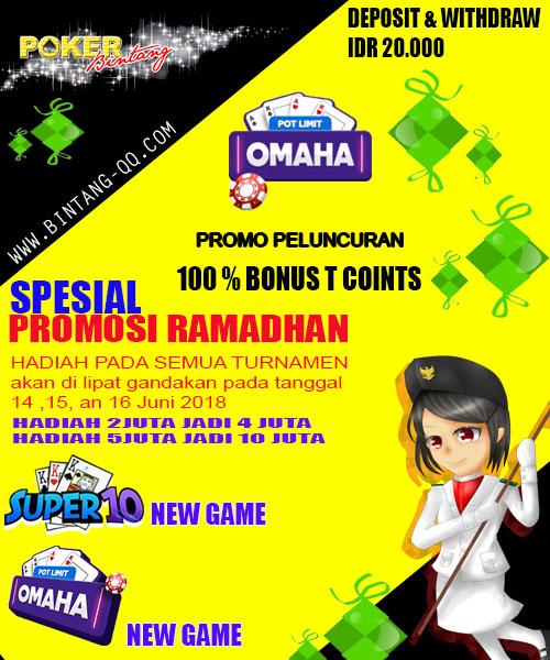 Promo Even Spesial Ramadhan Dari Pokerbintang