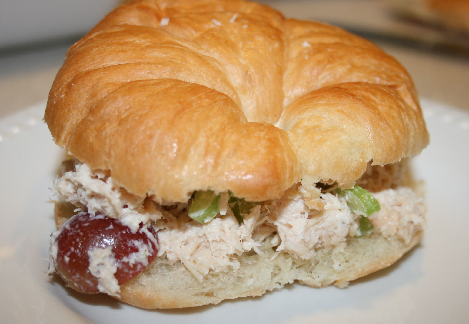 Kookin With Kimberly Chicken Salad Croissant Sandwiches