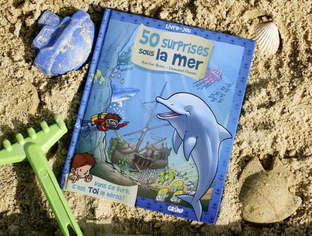 livre pour enfant 50 surprises sous la mer chez gründ editions