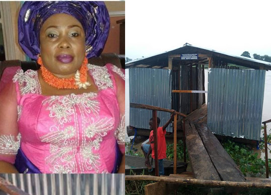 Bayelsa Lawmaker,Kate Owoko defends 'floating toilet' following outrage