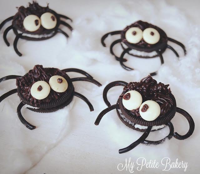 Arañas de Oreo con Chocolate | Receta para Halloween