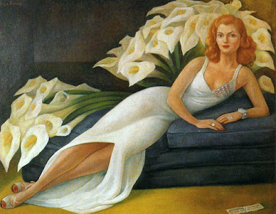 Diego Rivera - Portrait de Natasha Gelman,1943