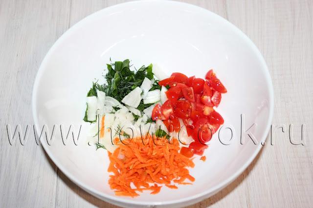 рецепт рыбных рулетиков с овощами с пошаговыми фото