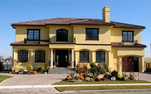 Fachadas casas modernas fotos de fachadas de casas de dos for Modelos de fachadas de casas de dos pisos
