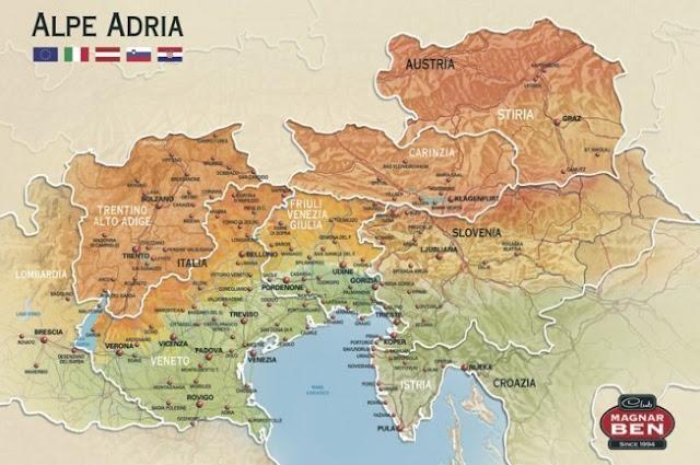 territorio Alpe Adria