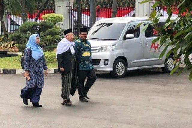 Ma'ruf Amin Datangi Istana, Romi: Cawapres Jokowi Berinisial M