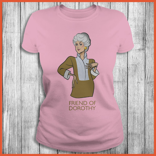 Golden Girl - Friend of Dorothy T-Shirt