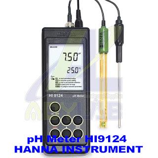 Merek pH Meter | pH Meter Hanna Instrument HI9124