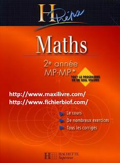 maths prepa eme annee mp mp