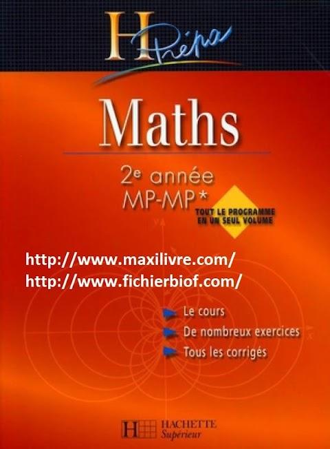 Maths H-Prepa (2eme annee MP-MP*)