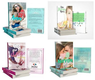 catálogo Besos de papel 2018_sellos editoriales de novela romántica