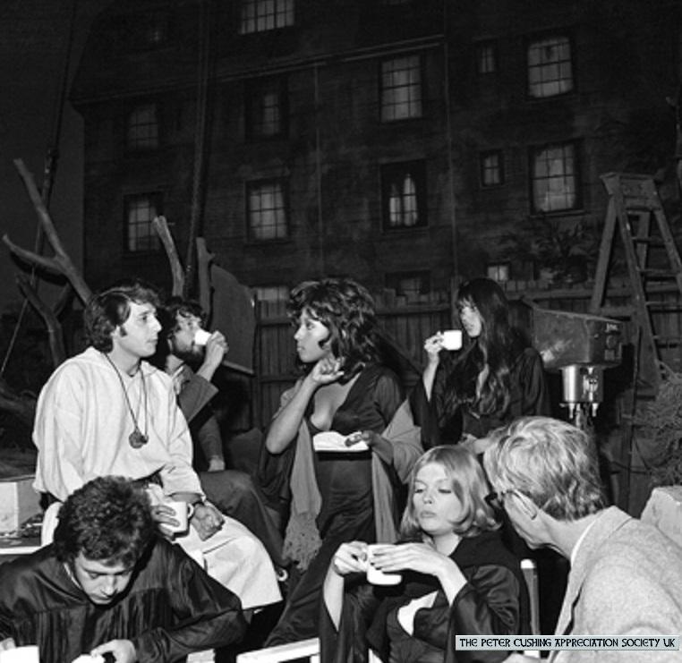 The Ad Group: The Black Box Club: HAMMER FILMS: DRACULA AD 1972 BEHIND