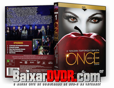 Once Upon a Time – 3ª Temporada Completa (2013) DVD-R OFICIAL