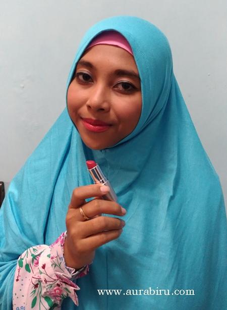 Review Wardah Matte Lipstick Series, Summer Pink & Peach