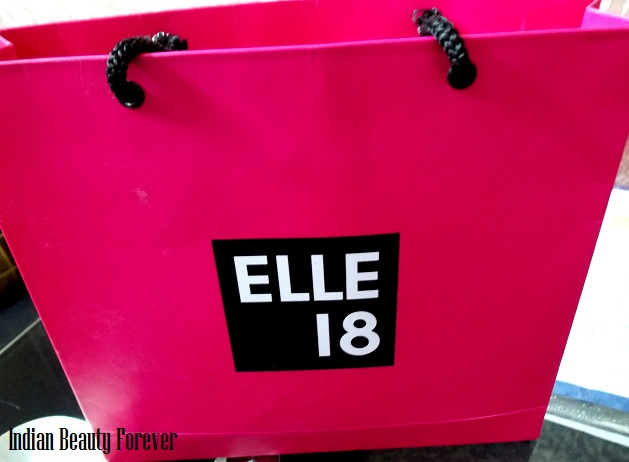 elle 18 new collection makeup lip balm, liner