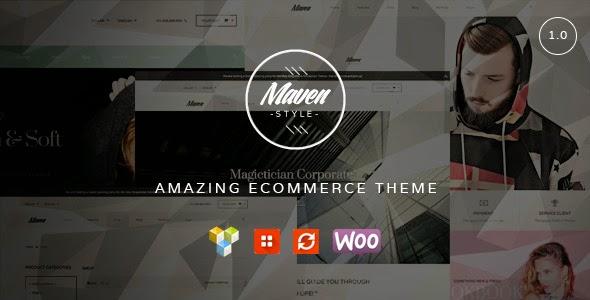 WordPress WooCommerce Theme 2015