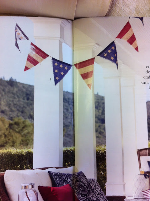 Maison Decor Patriotic Bunting Painted Furniture And Parties