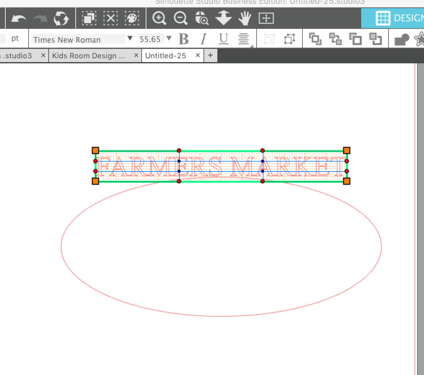 Silhouette Studio Warp Tool for Word Art - Silhouette School