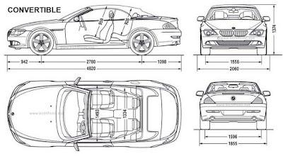kich thuoc xe bmw 6 series convertible