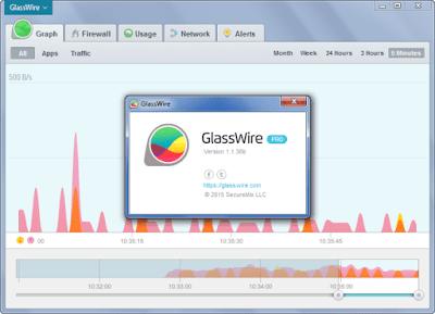 Screenshot GlassWire 2.0.84 Full Version