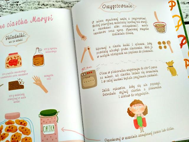 Przepis na ulubione ciasteczka Marysi – owsiane z czekoladą / fot. Marta Szloser