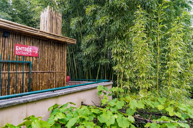 Entrada a la Bambouseraie en Cévennes, Francia por El Guisante Verde Project