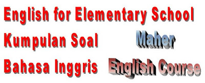 Soal-soal Latihan Bahasa Inggris Buku Paket Bahasa Inggris SD Level 2