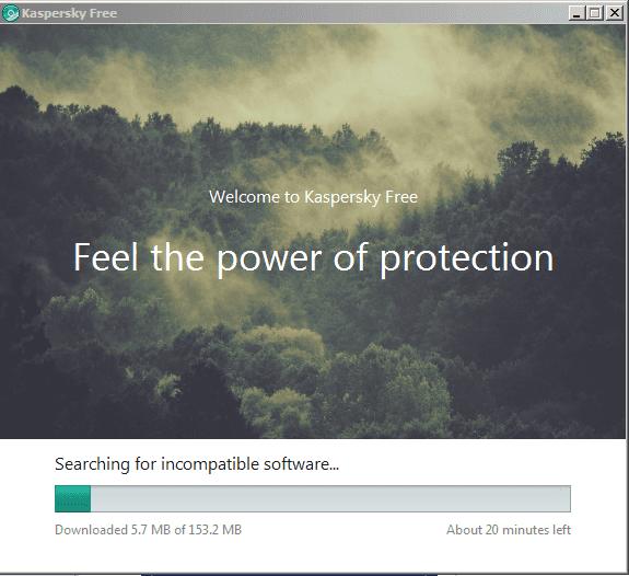 برنامج حماية جديد من شركة كاسبيرسكي تحث إسم برنامج Kspersky Free