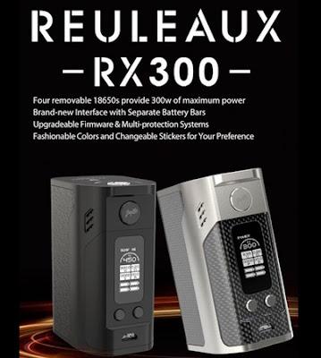 What you should know about Wismec Reuleaux RX300 Mod?