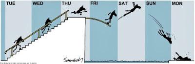 Lustige Woche - Kalender zum lachen