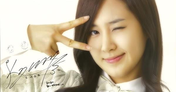 Signature Of The Beautiful Princess Yuri Snsd Wallpaper