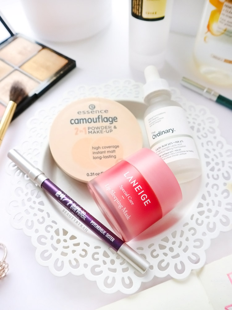 Laneige Lip Sleeping Mask and Urban Decay 24/7 Pencil in Psychedelic Sister Review