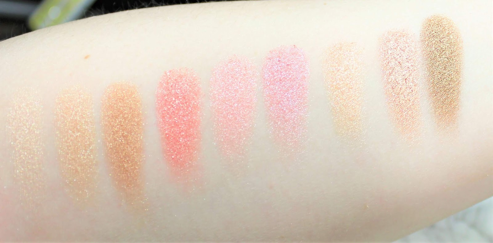 Pixi X Dulce Candy swatches