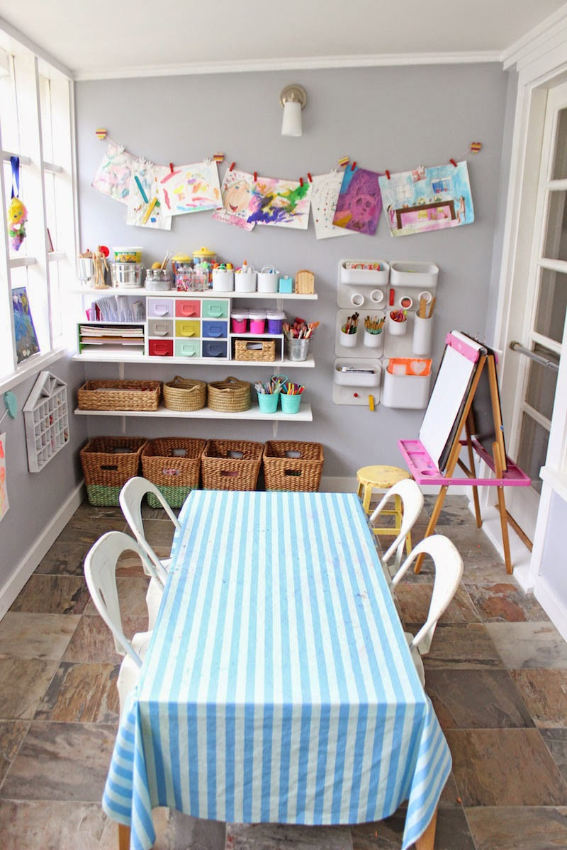 Use 'The New Playroom' to help inspire, design, plan and make your own inviting art space at home for your children! Get your copy now! Visit www.youclevermonkey.com