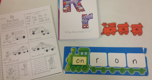Blending sounds for Early Readers