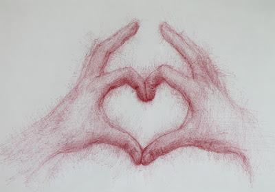 """Gracias"",""dibujo"",""ilustración"",""illustration"",""draw"",""drawing"",""pen"",""mano"",""heart"",""gracias"",""thanks"""