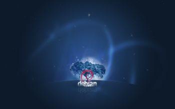 Wallpaper: Debian OS Linux