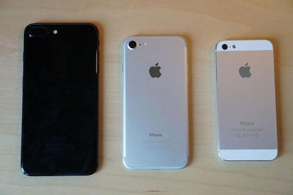 あまりに重くてデカイiPhone 7 Plus