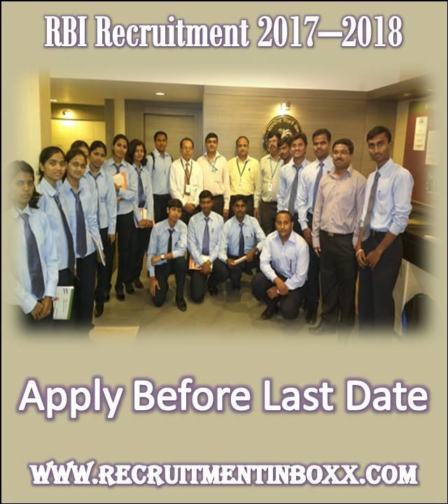 RBI Recruitment