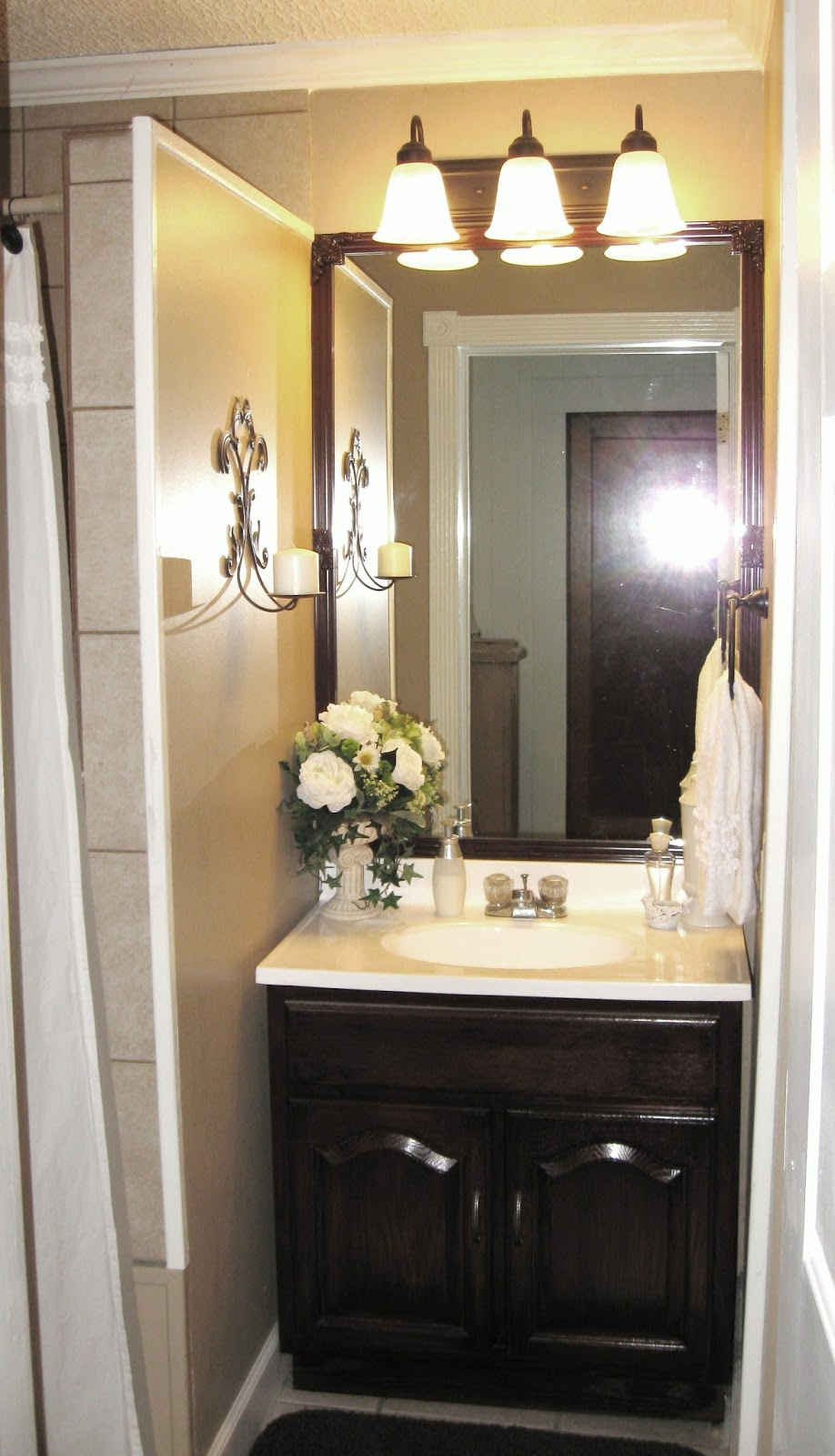 Chapel cottage chicks shiplap bathroom update for Updated bathrooms 2016