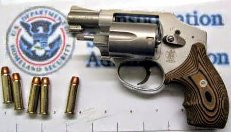 Loaded firearm discovered at LAX