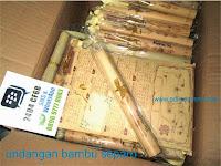 undangan bambu separo paking adisouvenir