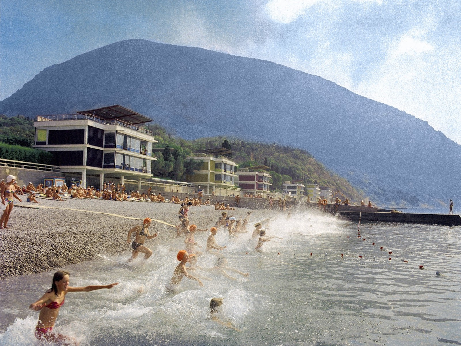 Artek Summer Camp in the 1980s Wonderful Pictures of the