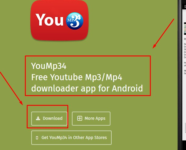 YouMp34 Android App Untuk Download Lagu di Youtube Lewat Hp Android 2019
