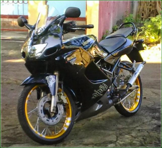 Gambar Stiker Variasi Motor Ninja R  TulisanViralInfo