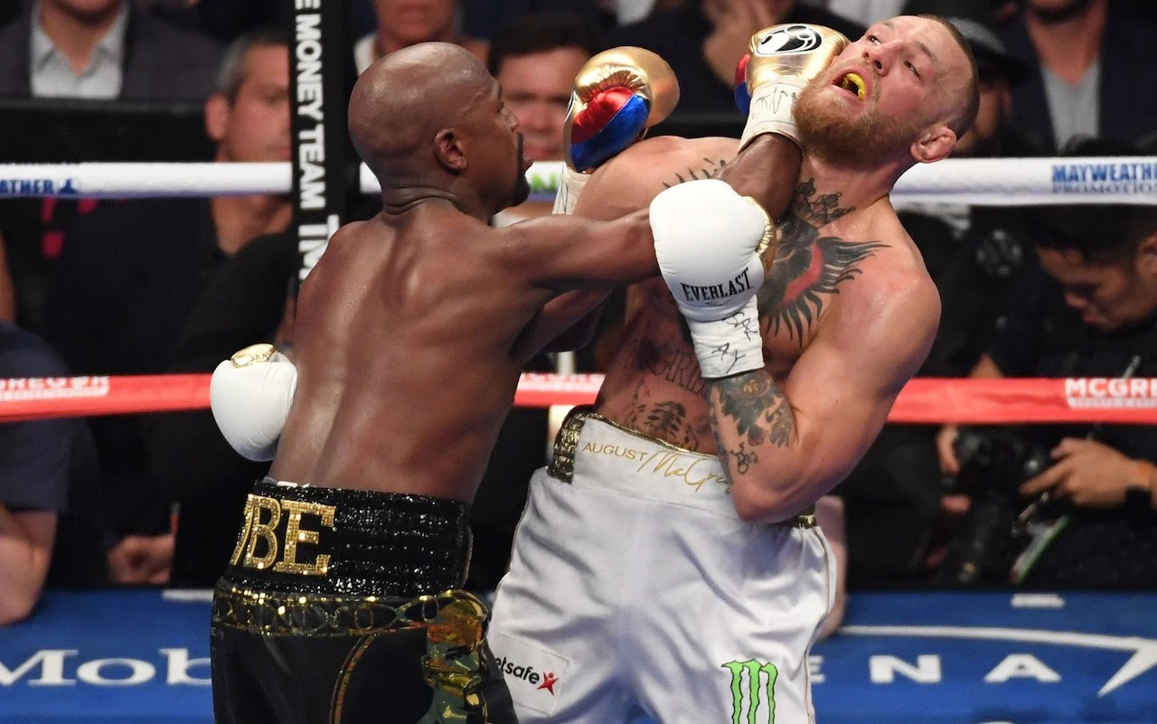 McGregor vs Mayweather result: Floyd Mayweather the winner after 10 rounds