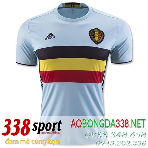 áo đội tuyển bỉ sân khách 2016
