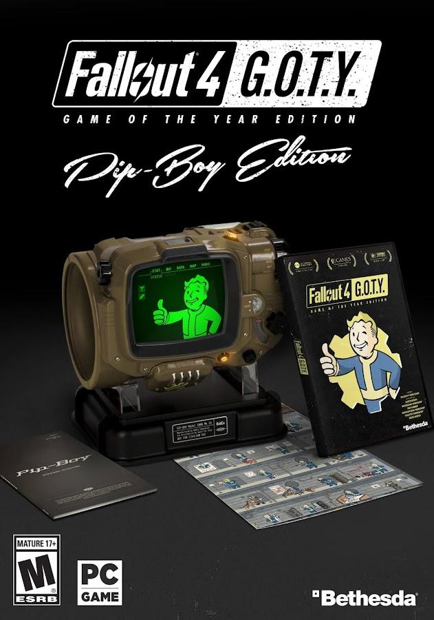 fallout 4 goty pip boy