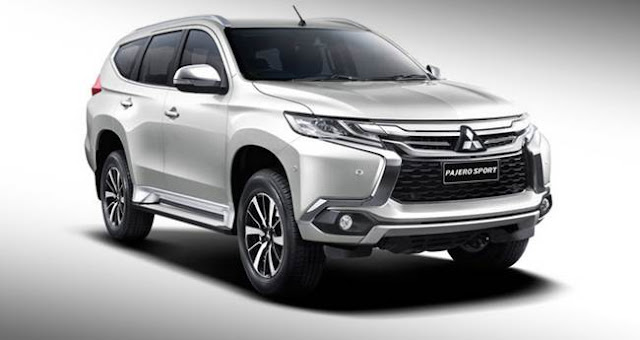 2016 Mitsubishi Pajero Sport leaked in patent drawings