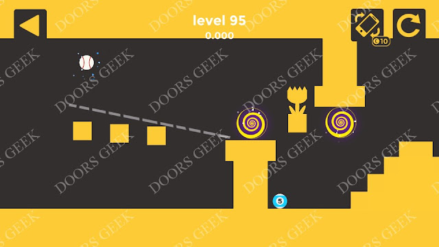 Ball & Ball Level 95 Solution, Walkthrough, Cheats for android and ios
